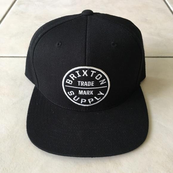 0657eb5d02b Brixton Oath III Mens Snapback Hat - Black